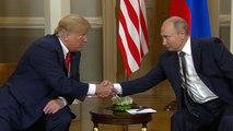 Trump and Putin address media ahead of summit