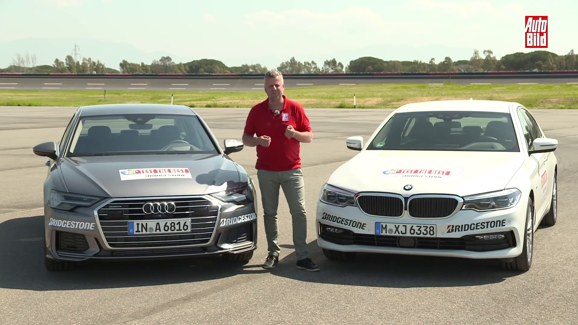 Vídeo Comparativa Audi A6 2018 Contra Bmw Serie 5 Cuál Es Mejor