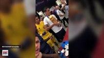 Bisous, câlins... Les Bleus ont fait des folies avec le trophée de la Coupe du monde