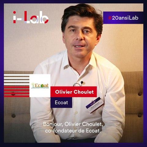 [Les lauréats en boite] Olivier Choulet, co-fondateur Ecoat