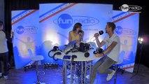Armin van Buuren en interview dans le studio de Fun Radio à l'EMF