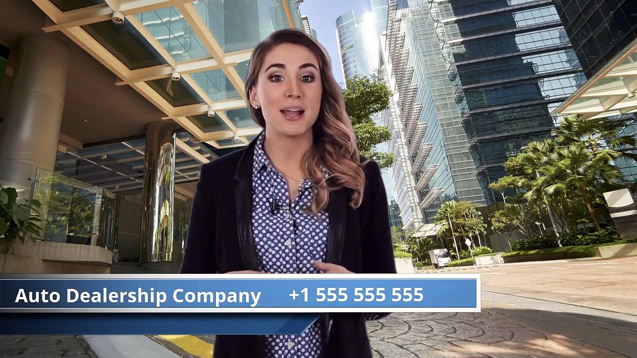 Auto Dealership Female Video Spokesperson  |  Car Dealerships Video Marketing