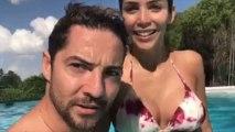 David Bisbal y Rosanna Zanetti disfrutan de su primer verano como casados