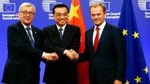 US trade tariffs take the spotlight in EU-China summit