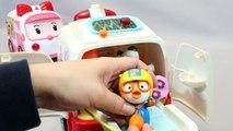 뽀로로 구급차 로보카폴리 병원놀이 장난감 Мультики про машинки Pororo Poli Ambulance Doctor Kit Toys