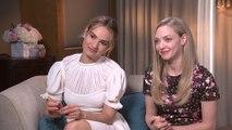 """Amanda Seyfried & Lily James Talk """"Mamma Mia 2"""""""