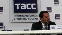 Mondiali, Salvini: complimenti alla Russia per l'organizzazione