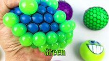 Kids Learn Colors with Squish Splat Ball & Squishy Slime Stress Balls Toys