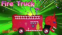 Big Truck | Fire Truck | Dinosaur Truck | Schoolbus Truck | Scary Monster Truck | Street V