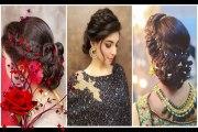 Most Beautiful Indian Wedding Bridal Hairstyles, Indian Wedding Hairstyles For Beautiful Women #3
