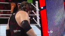 Roman Reigns vs Kane _ Randy Orton (2 on 1 Handicap Match) _ Raw,2014 (Full Match) WWE Wrestling
