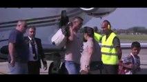 Cristiano Ronaldo Arrives In Turin For Juventus Presentation