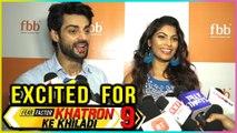 Karan Wahi And Lopamudra Raut EXCITED About Khatron Ke Khiladi 9
