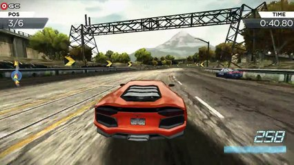 Need for Speed - Most Wanted (Lamborghini LP-700) Sports Car - Android Gameplay FHD