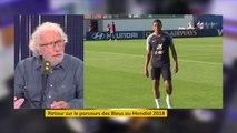 """Kylian Mbappé : """"C'est un merveilleux joueur. Il peut aller très loin pour une raison simple: il est très bien entouré"""", explique Jacques Vendroux"""