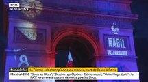 Champions du monde : Retour sur la nuit de liesse à Paris après la victoire des Bleus à la Coupe du monde