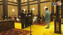 LIVE: Majlis angkat sumpah Menteri, Timbalan Menteri di Istana Negara