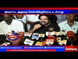 Car parking, food prices are more than the ticket price in theatre complains T.R | Sathiyam TV