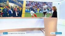 """Coupe du monde : Marinette Pichon salue """"l'audace"""" de Didier Deschamps"""