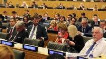 Carmena interviene en la sede de Naciones Unidas