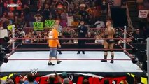 John Cena vs Batista WWE Championship - Quit Match Over The Limit - WWE -