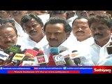 M.K Stalin in Press Meet