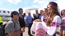 Maradona welcomed in Belarus as he takes on new job with Dynamo Brest