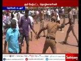 Neyveli NLC protest - Police beats protesters