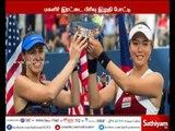 America open tennis: Martina Hingis and Chan Yung-Jan win women's double