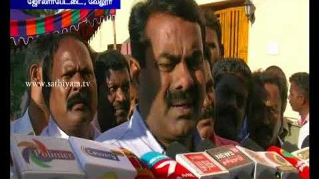 Perarivalan's parole should be extended - Seeman, NTK