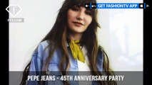 Pepe Jeans London Celebrates 45th Anniversary with a Fashion Party | FashionTV | FTV