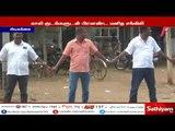 காவிரி வாரியம் அமைக்க மத்திய அரசை கண்டித்து காலி குடங்களுடன் பிரமாண்ட மனித சங்கிலி #CauveryProtest