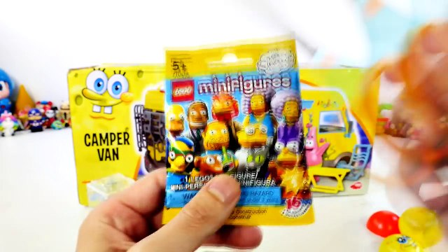 Spongebob Squarepants Camper Van Playset with GIANT Play Doh Krabs Surprise Egg Toys Super