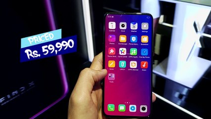 OPPO FIND X LAUNCHED   POP UP DUAL CAMERA PHONE   NEWSX TECH