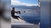 Water Skiing fail