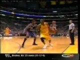 Kobe bryant dunks on yao ming - NBA Basketball
