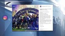 Les Bleus champions du monde : Zinédine Zidane leur rend un discret hommage