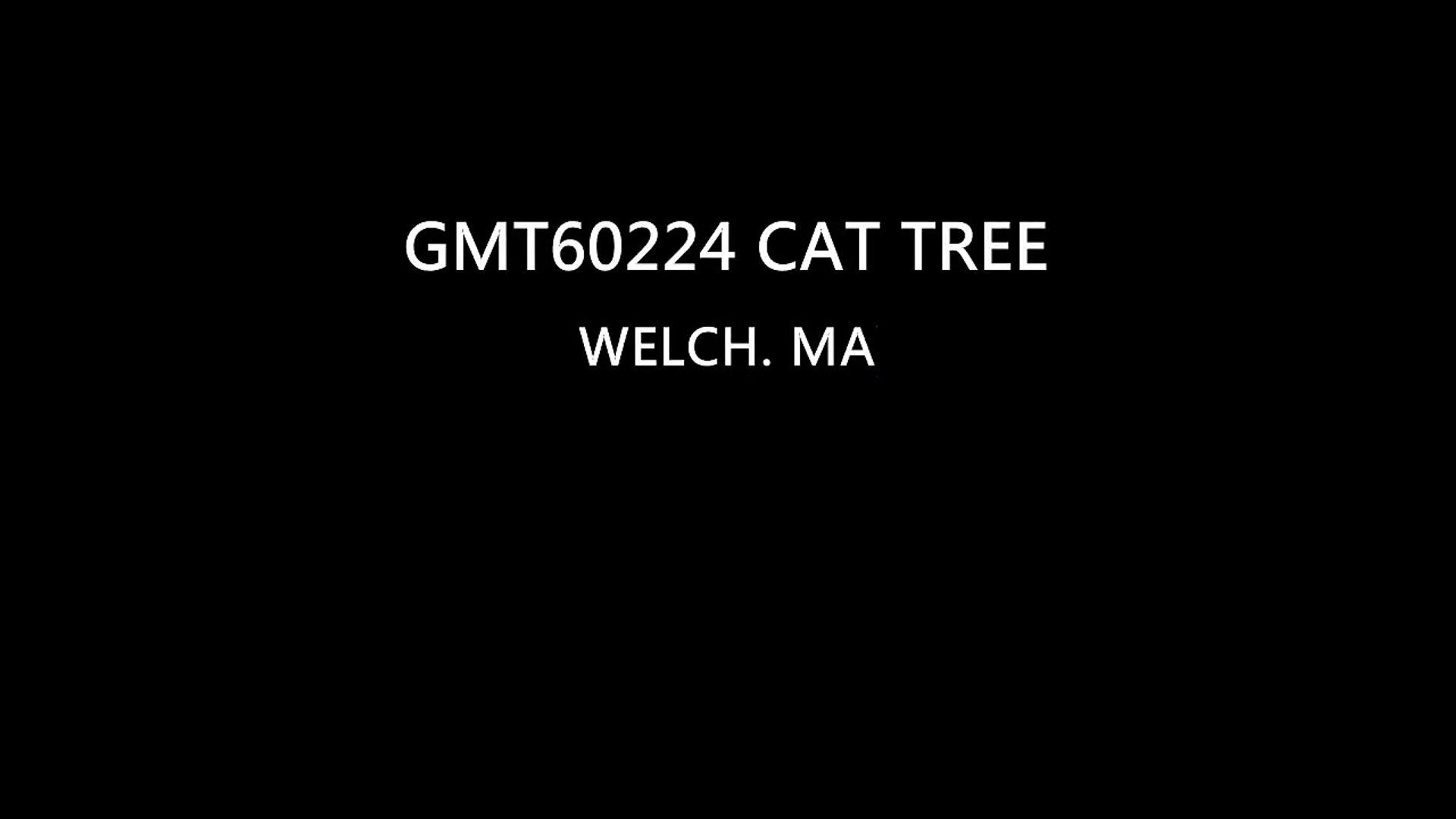 Beige small cat tree | cattree-factory.com
