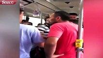 Metrobüste genç kadının fotografını çekti iddiası