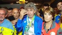 Mágico González inaugura la puerta que lleva su nombre en el estadio de Cádiz