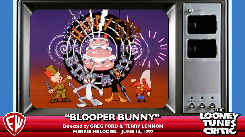 Blooper Bunny | Looney Tunes Critic Commentary (w: director Greg Ford)