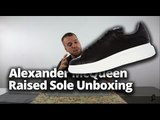 Alexander McQueen Exaggerated Sole Review & Unboxing   Raised Sole by McQueen