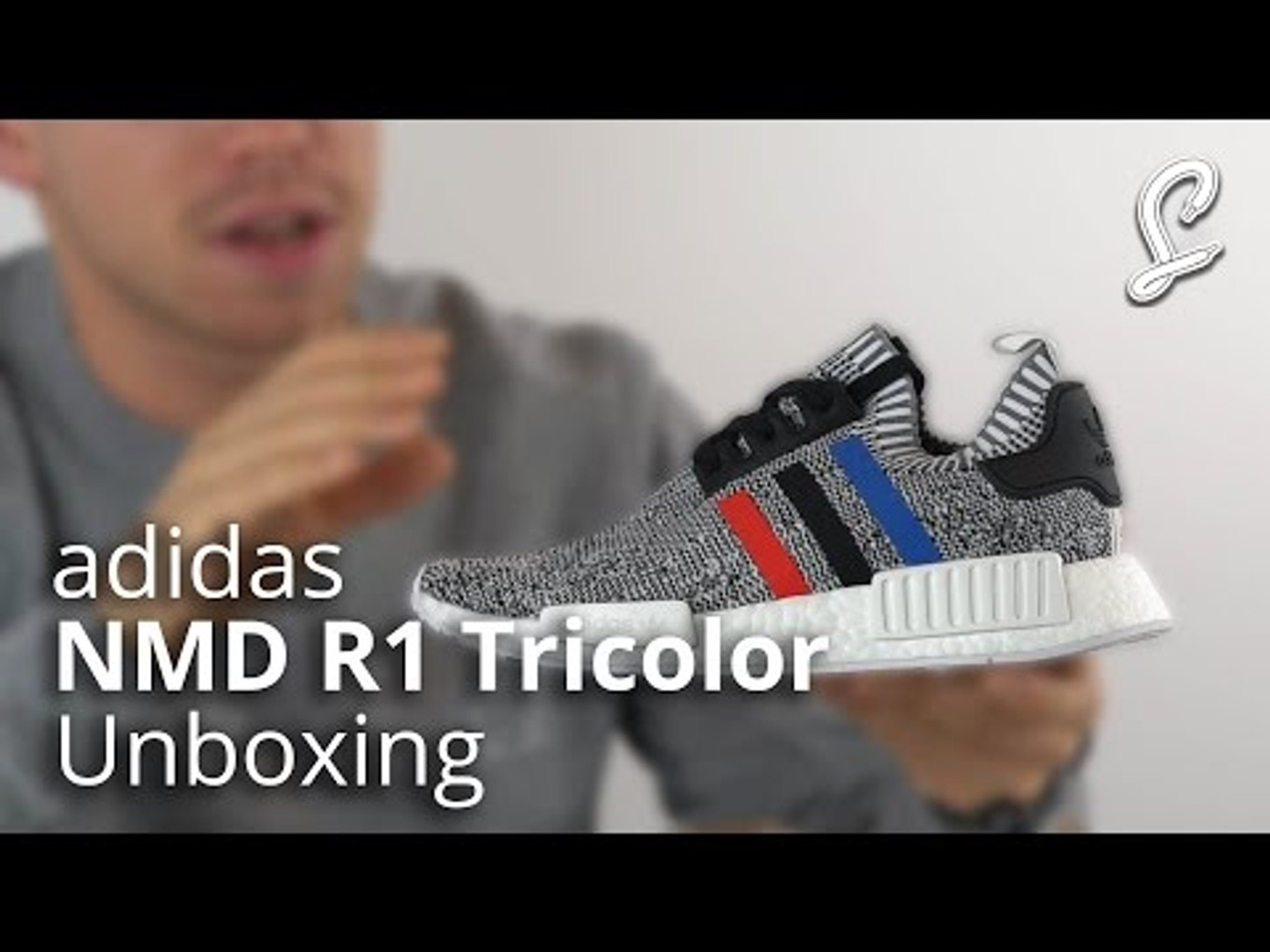 adidas NMD R1 Tricolour Unboxing & Review   Grey Primeknit