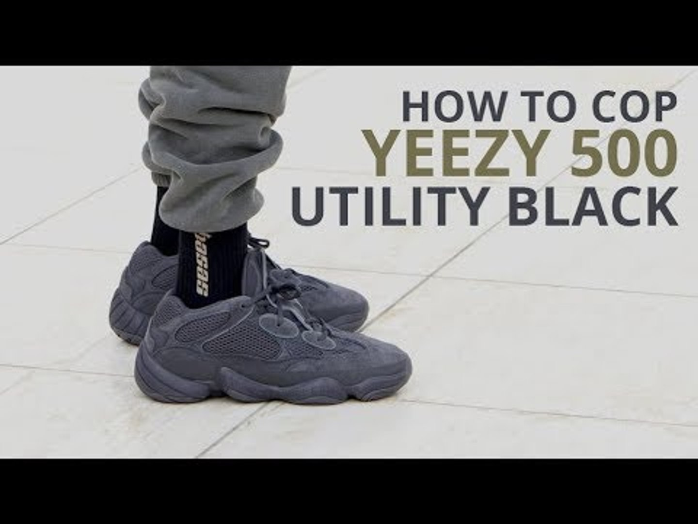 HOW TO COP THE YEEZY 500 UTILITY BLACK | RELEASE DATE, RAFFLES, CONFIRMED & GIVEAWAY