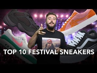 TOP 10 SNEAKERS TO COP FOR FESTIVAL SEASON 2018