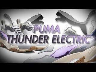 PUMA THUNDER ELECTRIC WHITE PINK WOMENS UNBOXING   SNEAKER REVIEW AND ON FOOT