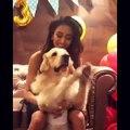 Erica fernandes PLAY WITH HER DOG FAME  kuch rang pyar ke aise bhi