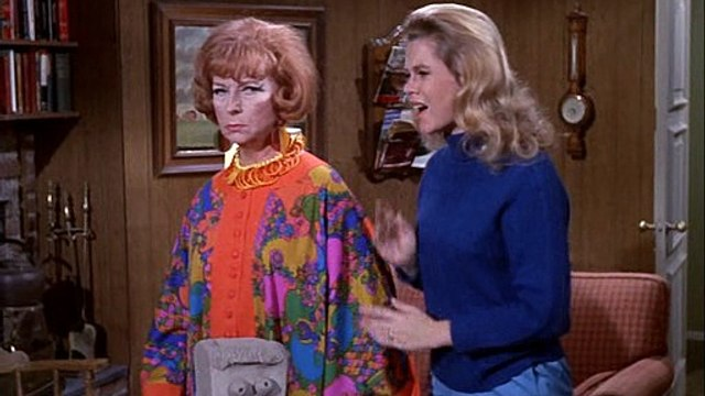 Bewitched 5x19 - Samantha, The Sculptress