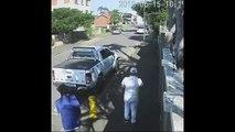 2 voleurs de voitures pris en flag par le propriétaire