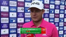 Tyrrell Hatton expressed his pleasure at his 64 at the Scottish Open despite not playing his best golf at Gullane.Follow Day Three of the Scottish Open live o
